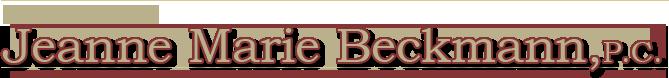 Jeanne Marie Beckmann, P.C. logo
